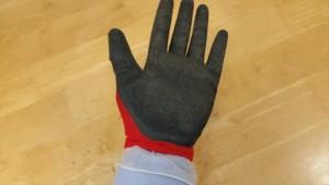 ビニール手袋ゴム手3